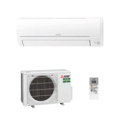 Mitsubishi Electric Air Conditioning MSZ-HR25VF Classic Wall Mount 2.5Kw/9000Btu R32 A+ Install Pack